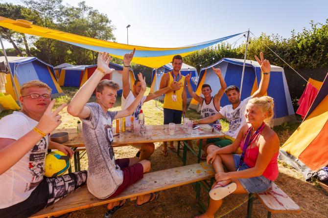 Gruppenreise nach Italien ins Camp in Cesenatico